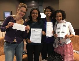 Team Ethiopia: the writers of Tales of Ethiopia!